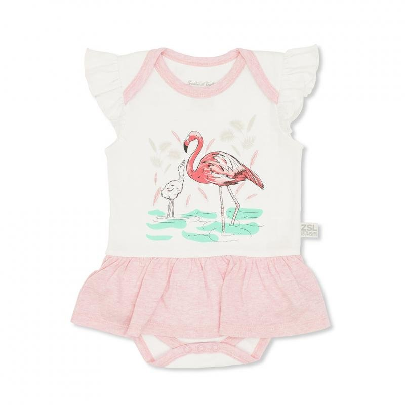 Flamingo Baby Dress