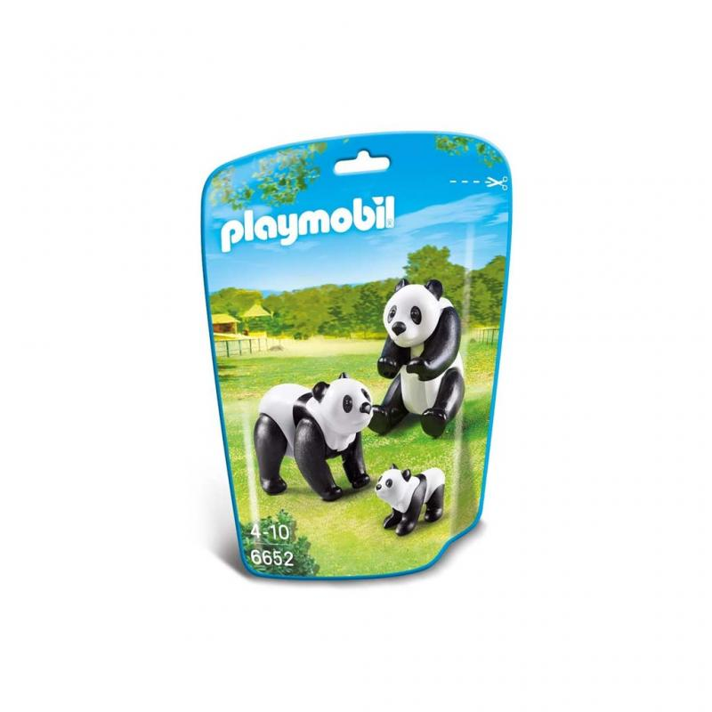 Playmobil Panda Figures pouch