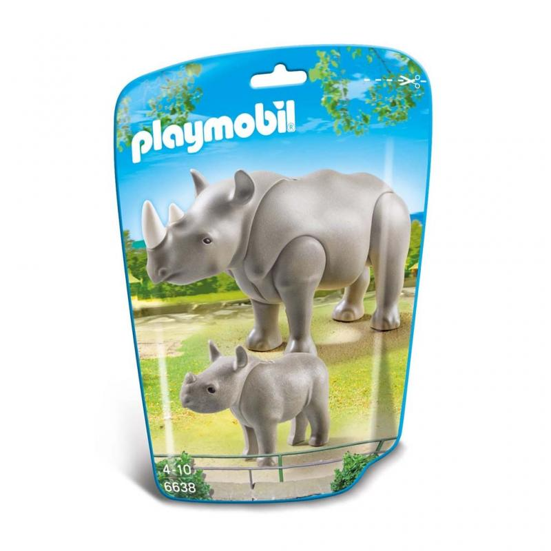 Playmobil Rhino Figures