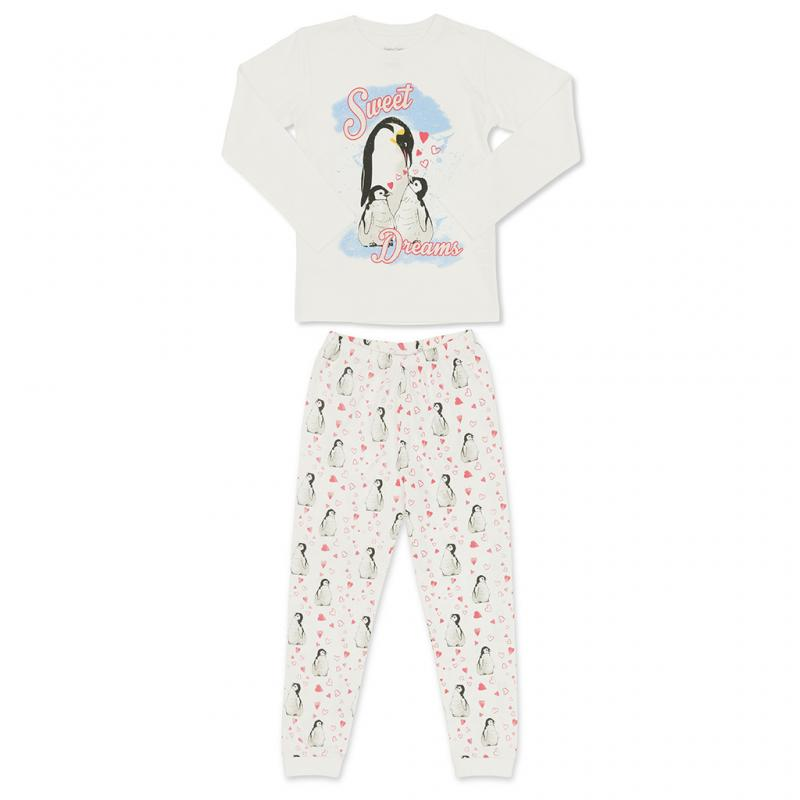 Children's penguin pyjamas
