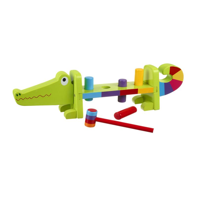 Crocodile Hammer Bench Toy