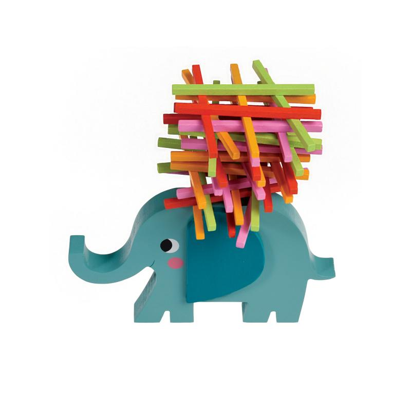 Elephant stacking game