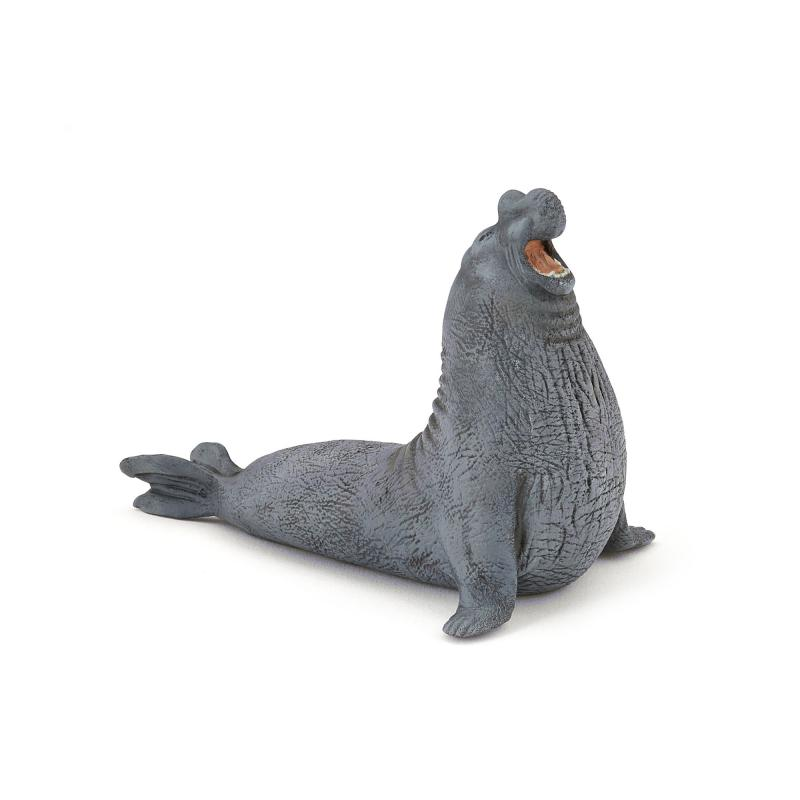 Elephant seal figure