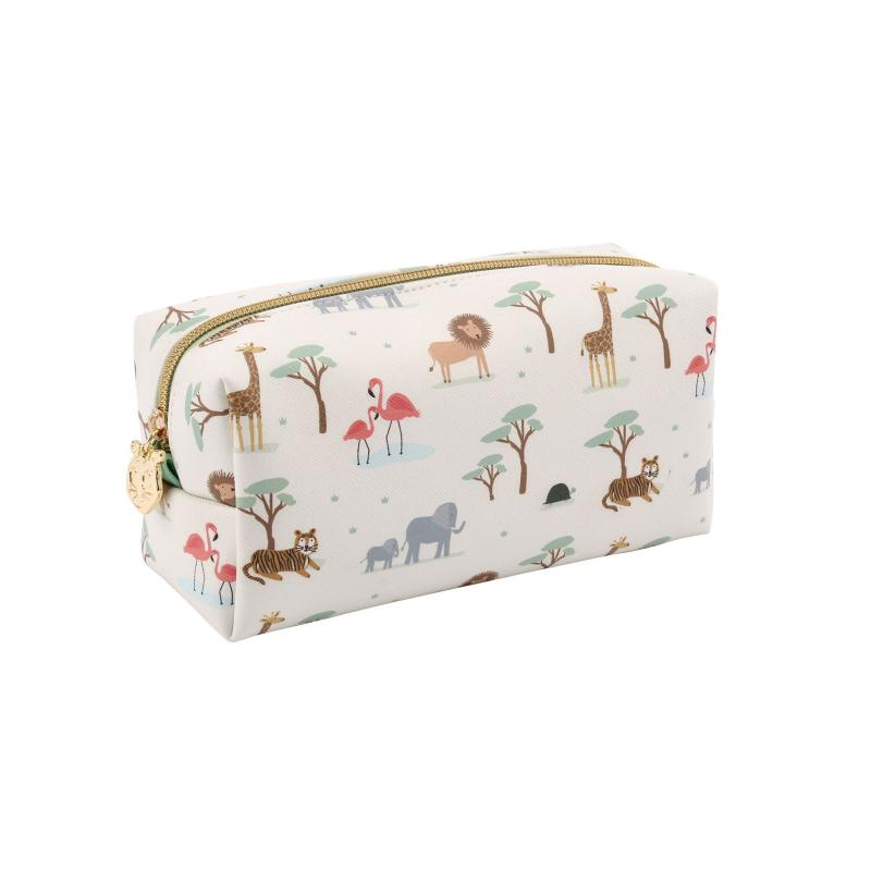 Animals cosmetic bag