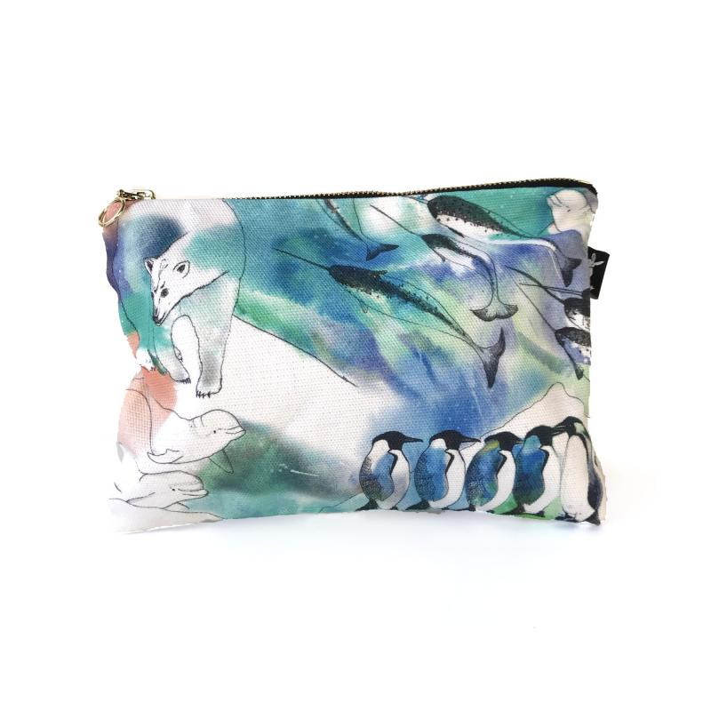 Arctic cosmetic bag