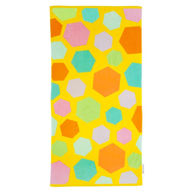 Kids giraffe towel