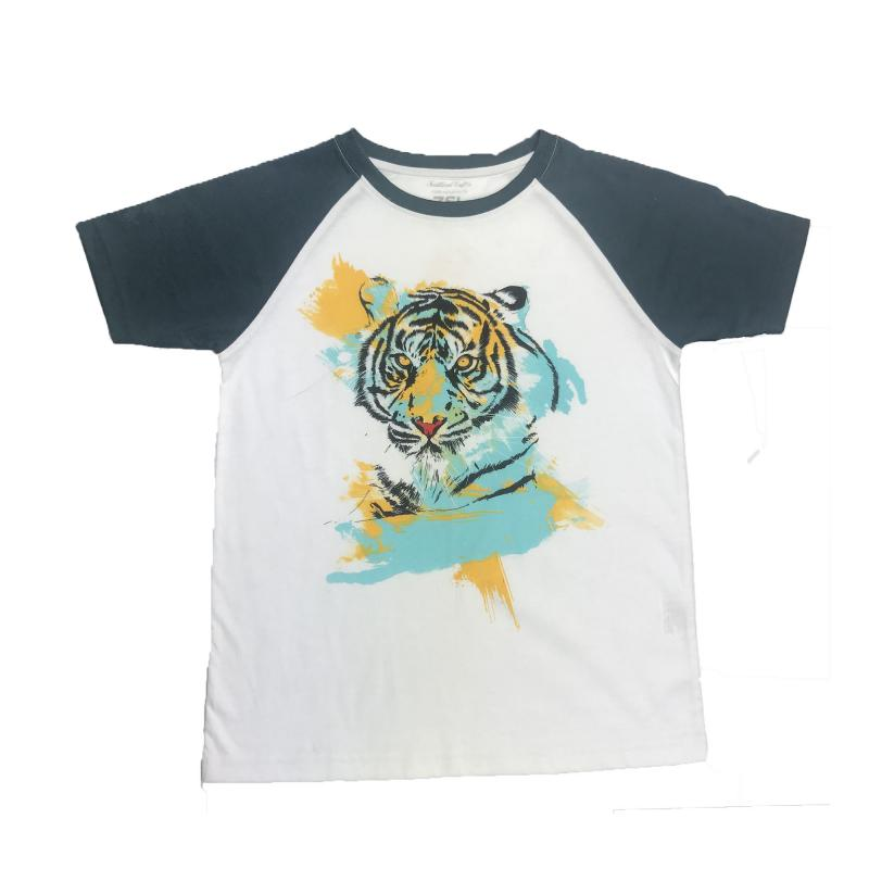 Children's tiger print t-shirt
