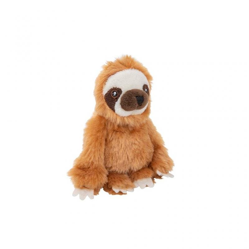 Sloth Beanie Soft Toy, 9cm