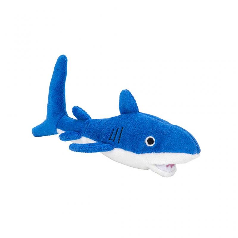 Shark Beanie Soft Toy, 9cm