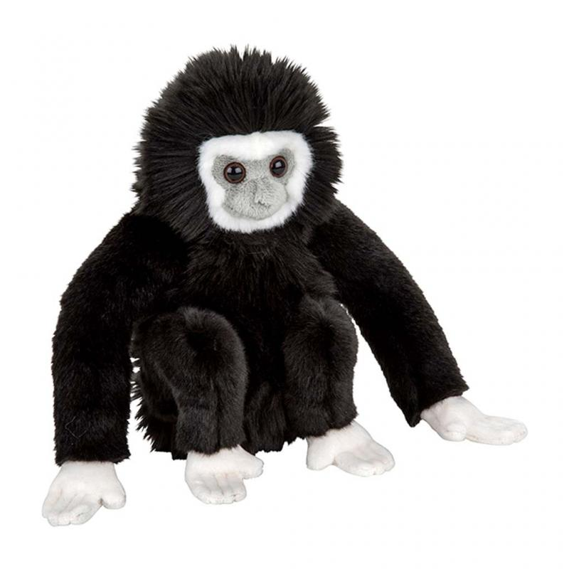 Black Gibbon Soft Toy, 28cm