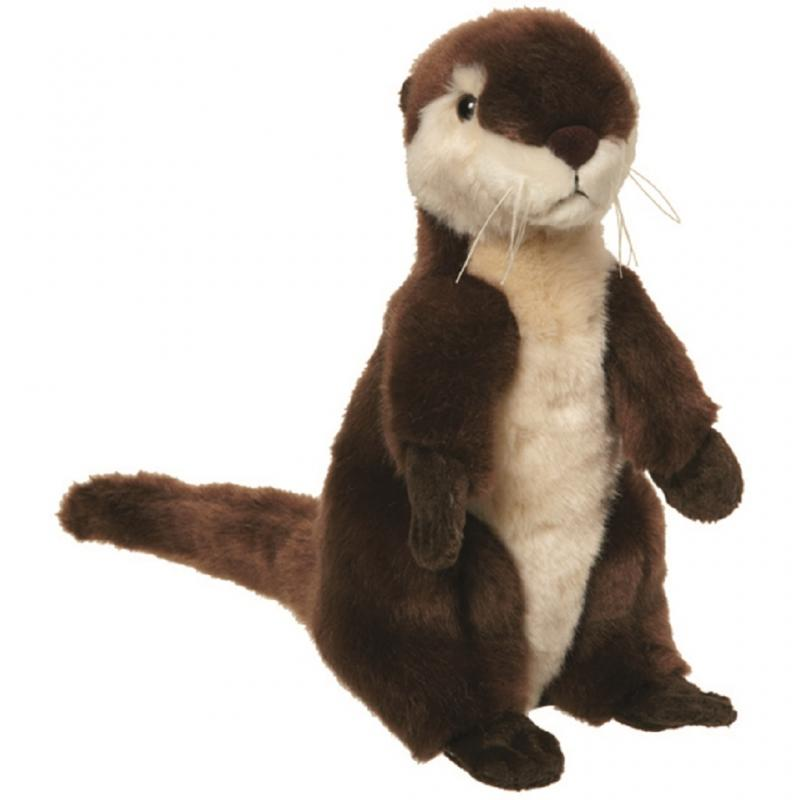 River otter soft toy, 37cm
