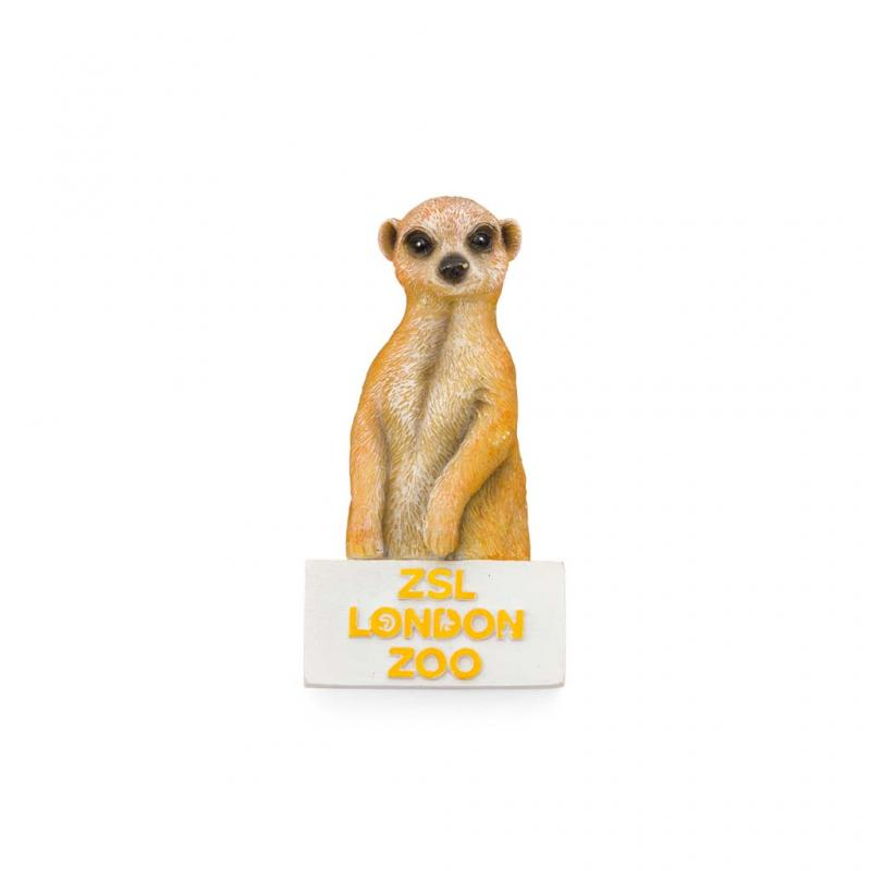 London Zoo Meerkat Magnet