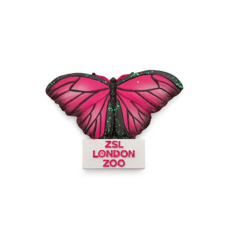London Zoo Butterfly Magnet