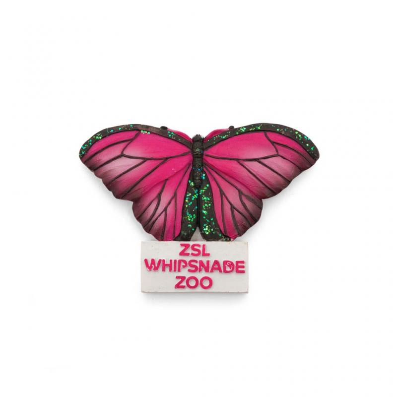 Whipsnade Zoo Butterfly Magnet