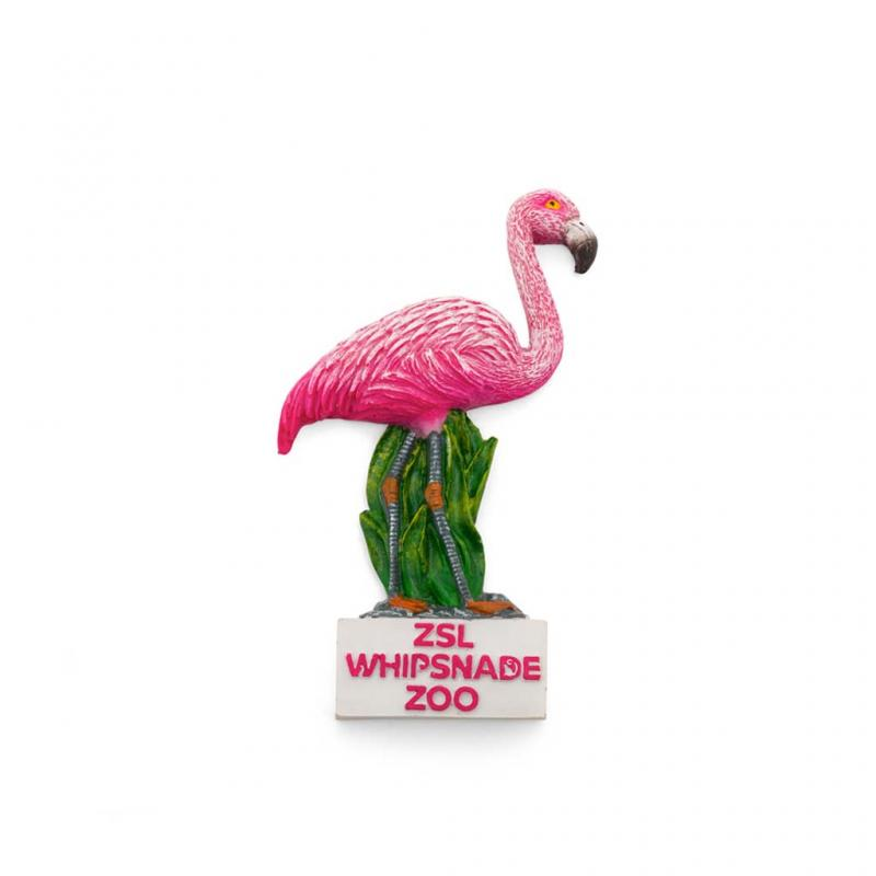 Whipsnade Zoo Flamingo Magnet