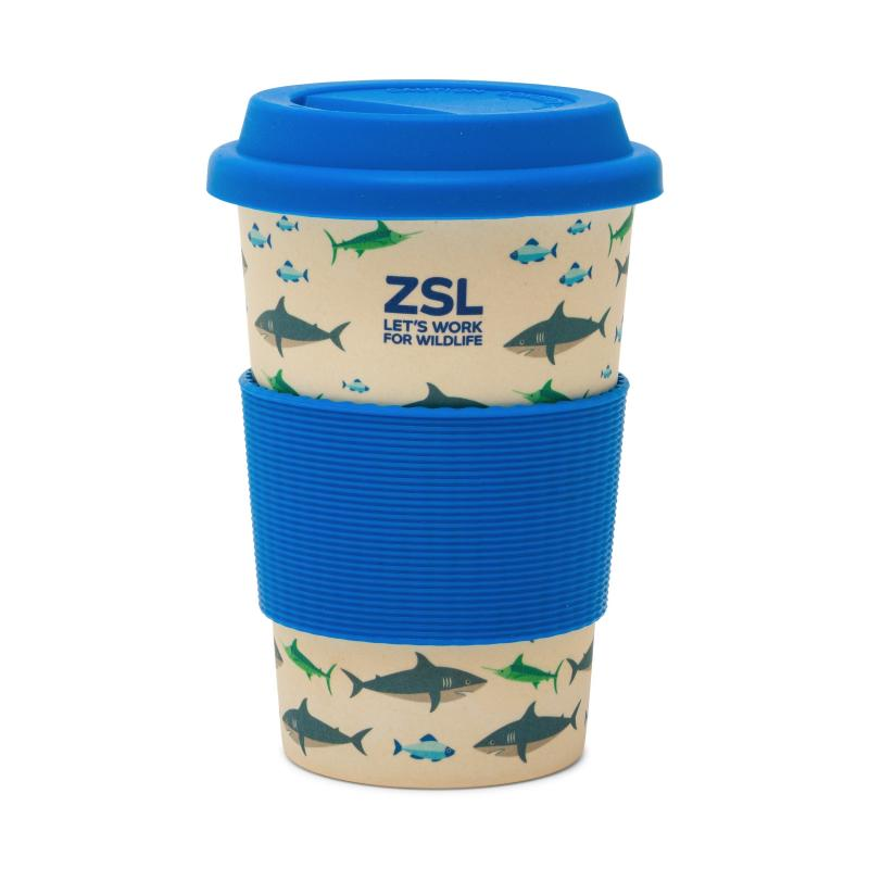 Shark Bamboo Travel Mug