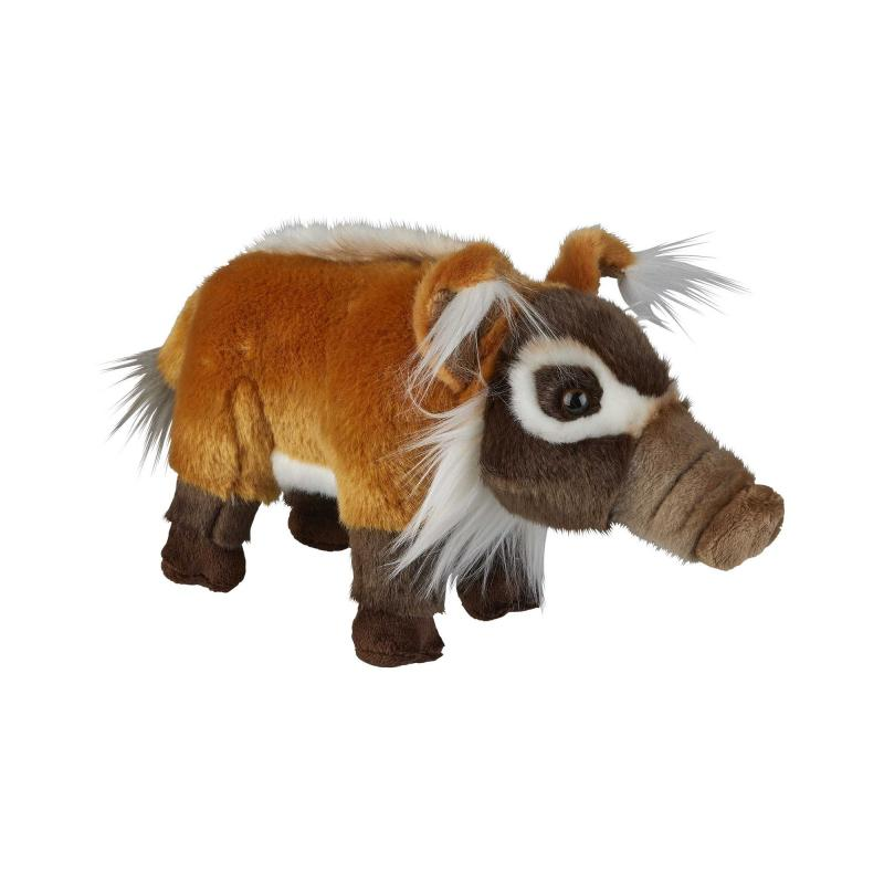 Red river hog soft toy