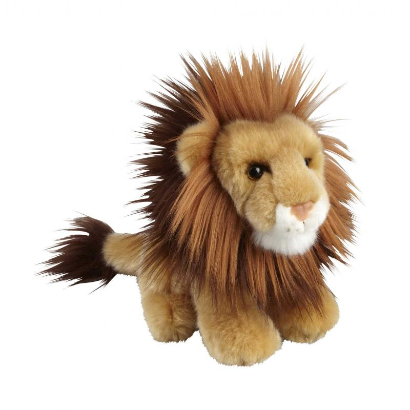 Lion soft toy, 18cm