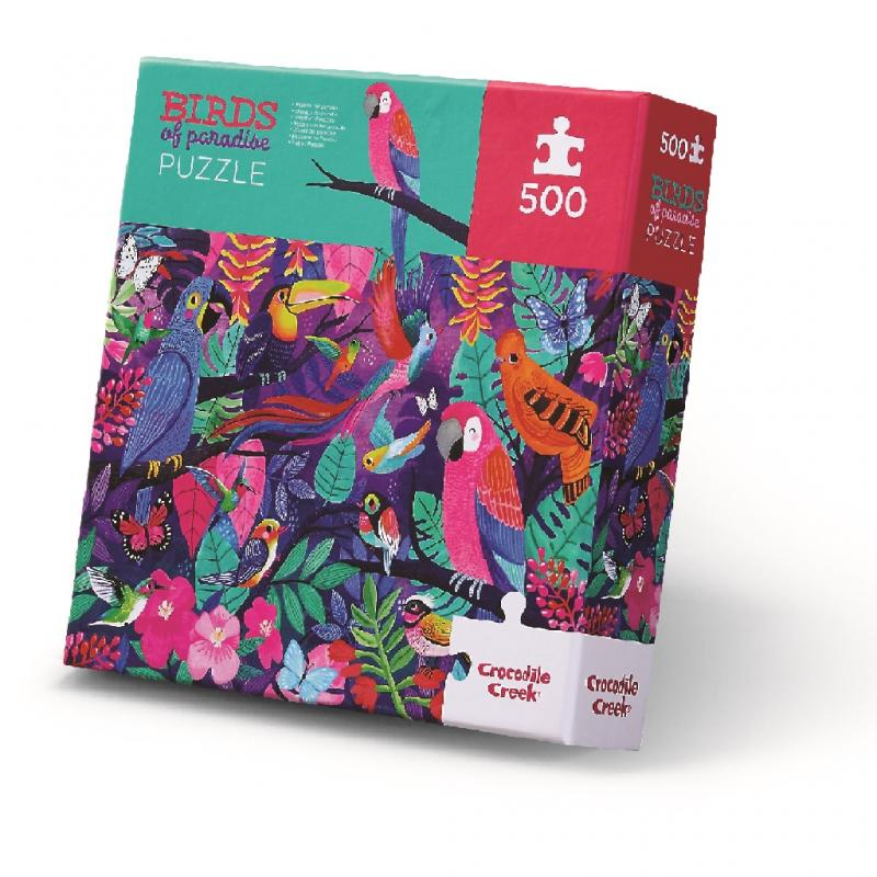 Birds of Paradise Jigsaw Puzzle, 500 pieces