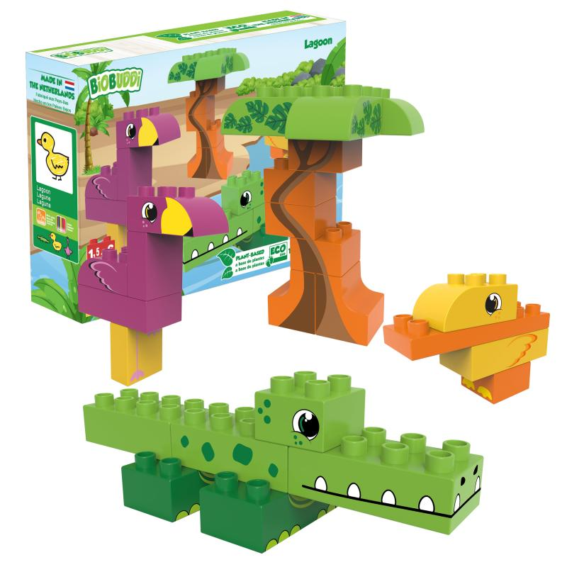 Biobuddi lagoon block set