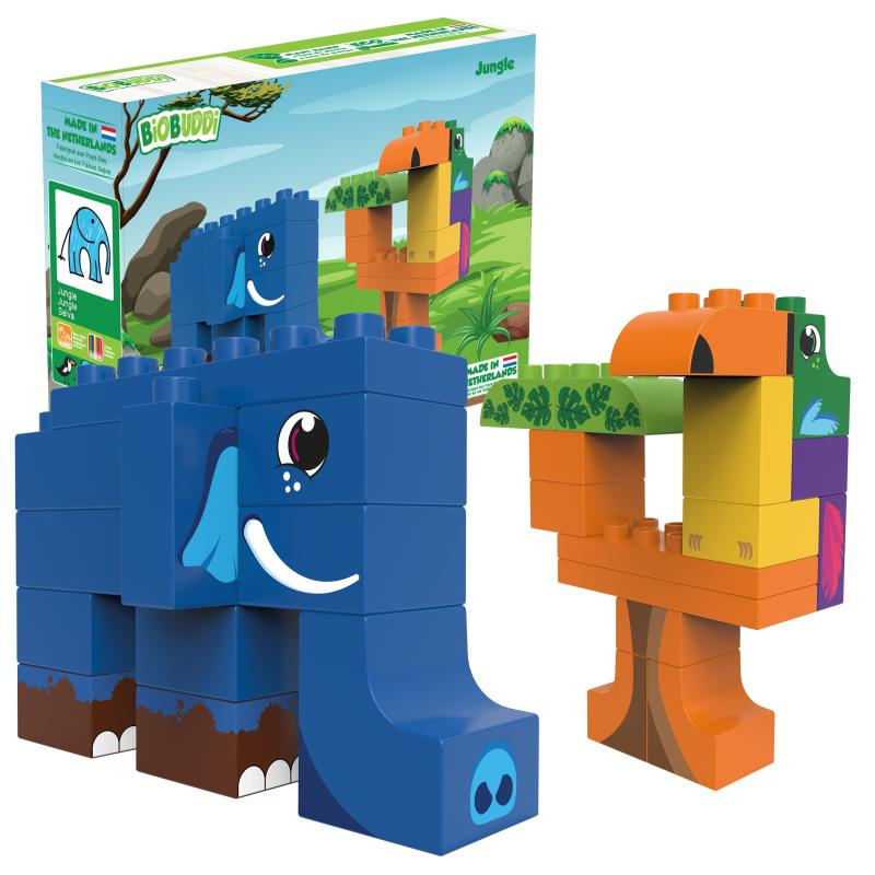 BioBuddi jungle blocks