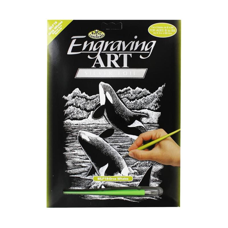 Orca engraving kit