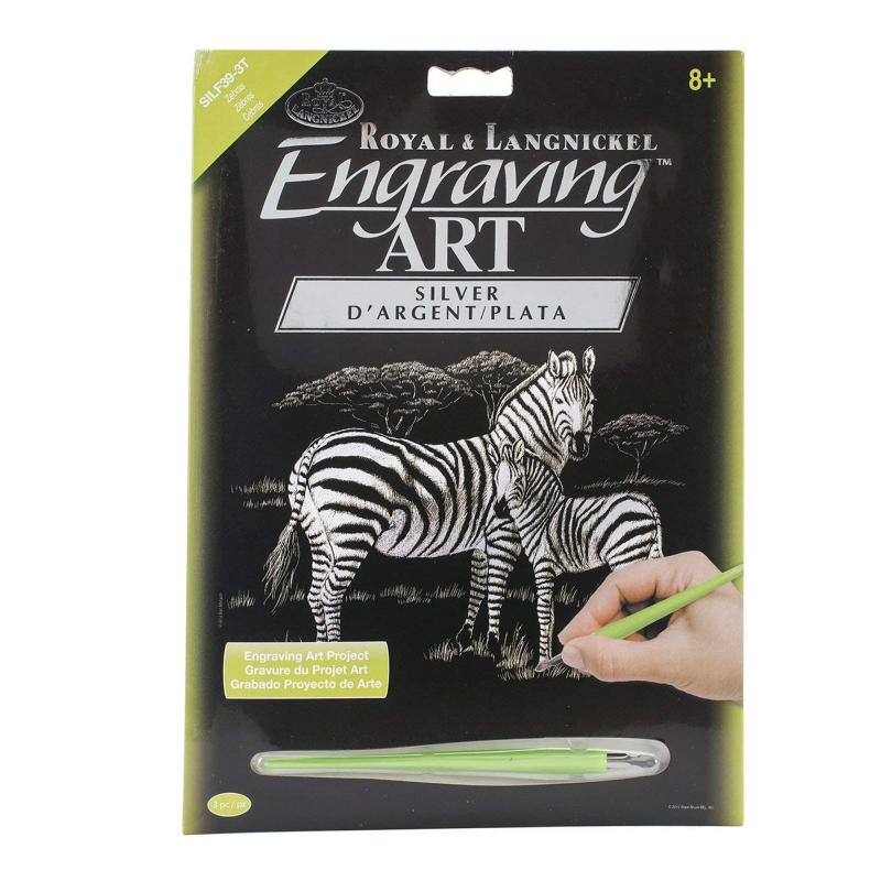 Zebra engraving set
