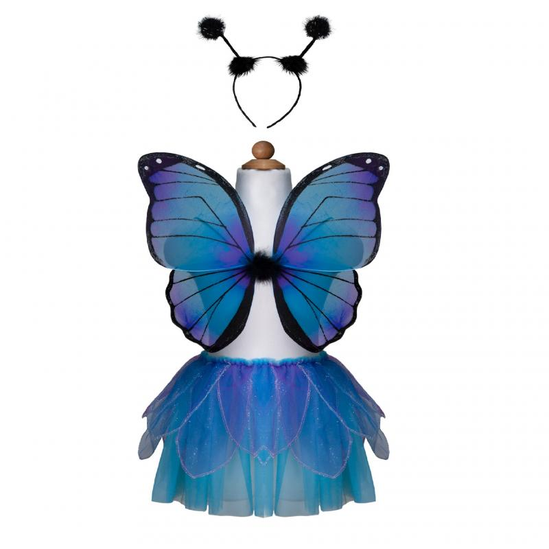Midnight butterfly dress up set