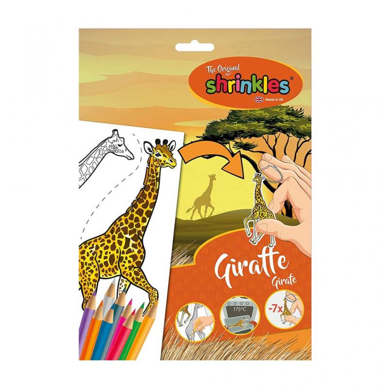 Shrinkles Giraffe Craft Kit