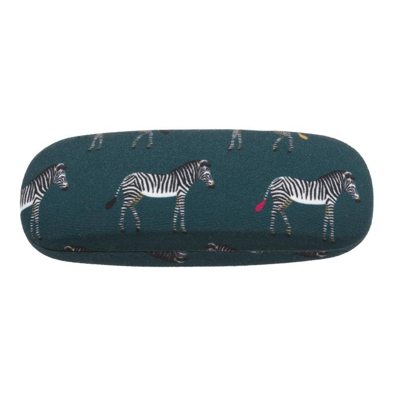 Sophie Allport zebra glasses case