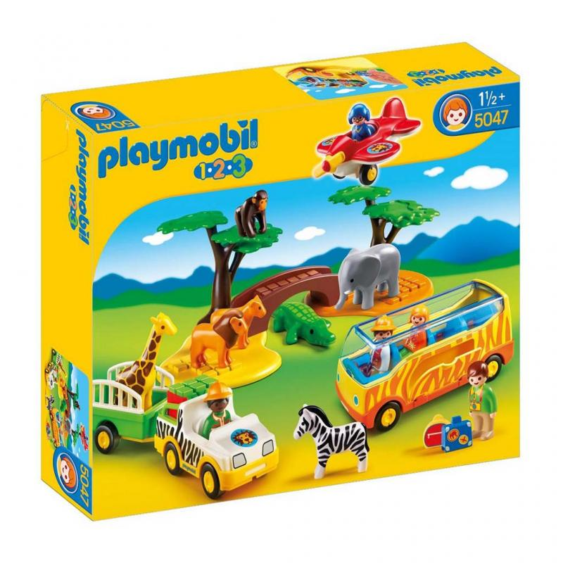 Playmobil 123 African Safari Play Set