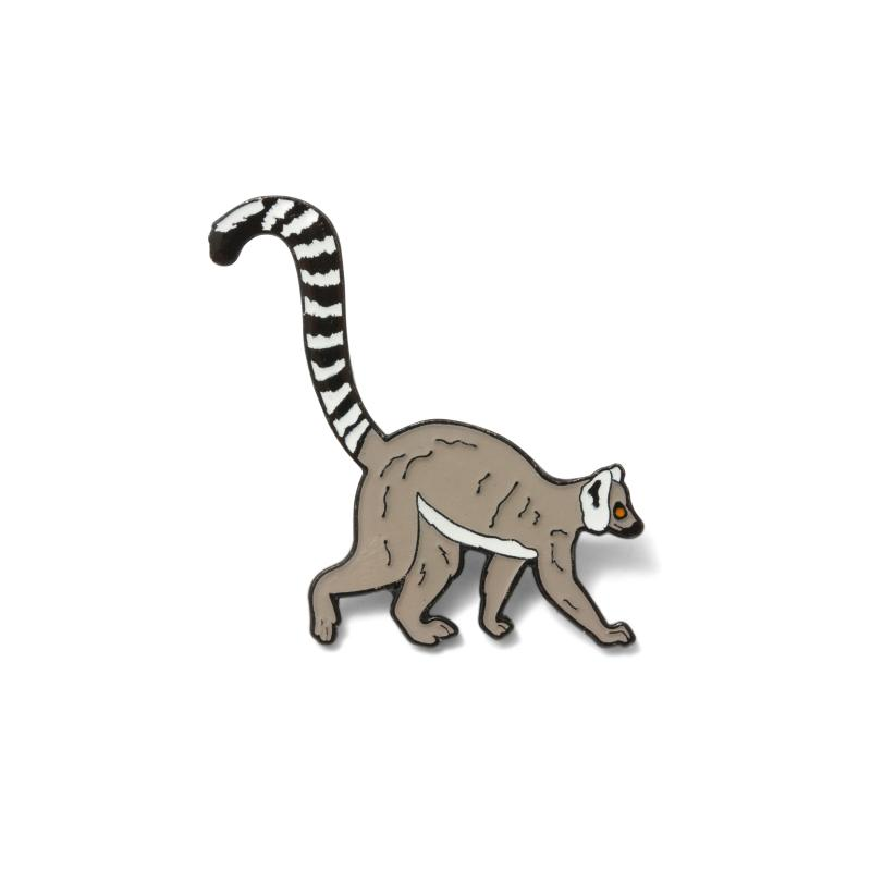 Lemur Pin Badge