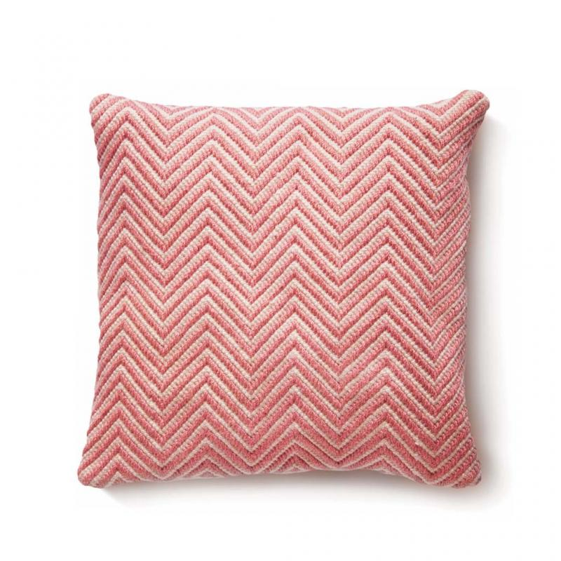 Eco-Friendly Cushion, Coral Pink