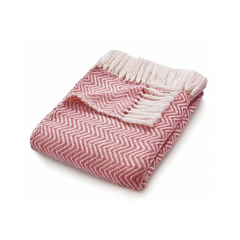 Eco-Friendly Throw, Coral Pink