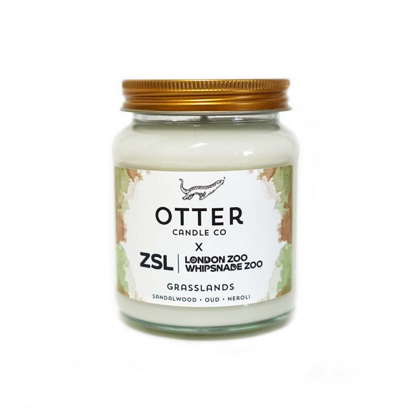 Otter Candle Co Grasslands Candle