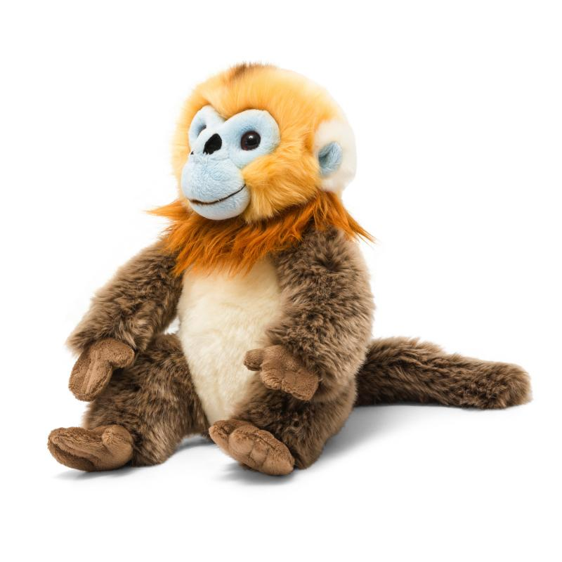 Golden snub monkey soft toy, 28cm