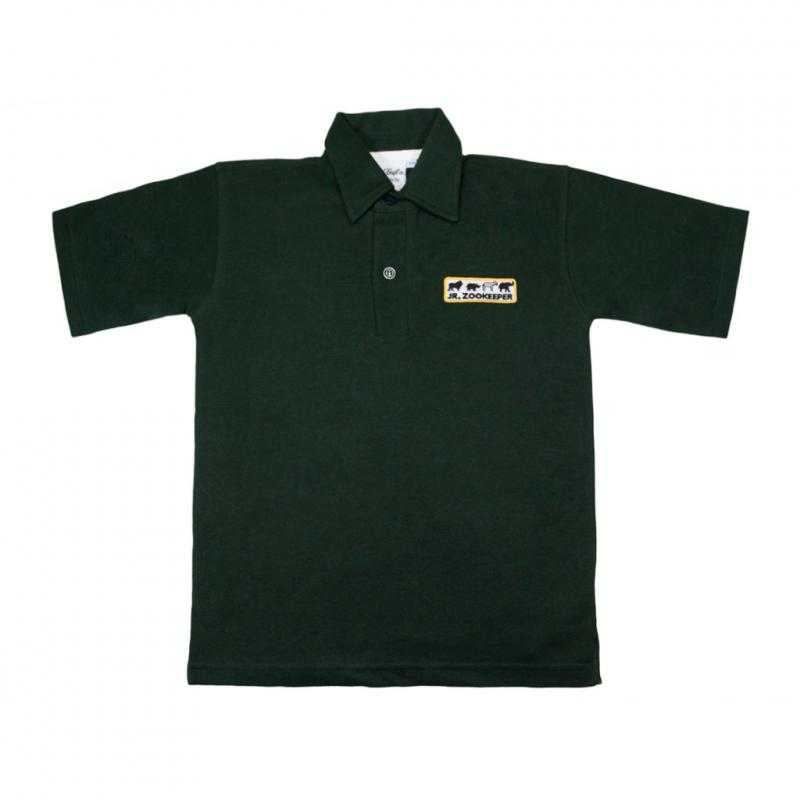 Junior Zoo Keeper polo t-shirt