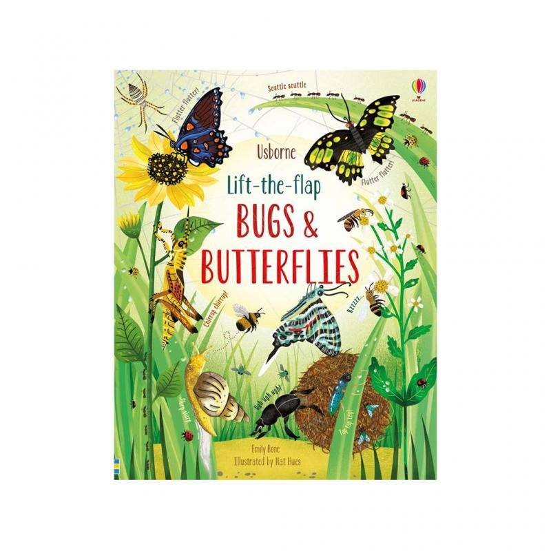 Lift-the-Flap, Bugs and Butterflies Book