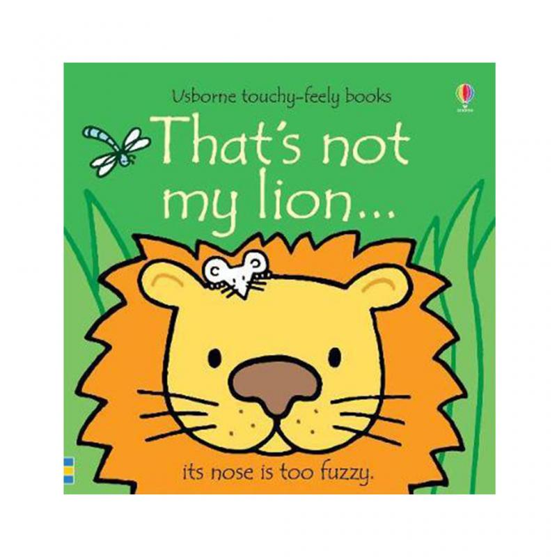 That's Not My Lion Book