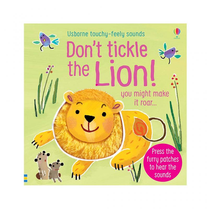 Don't Tickle the Lion! Book