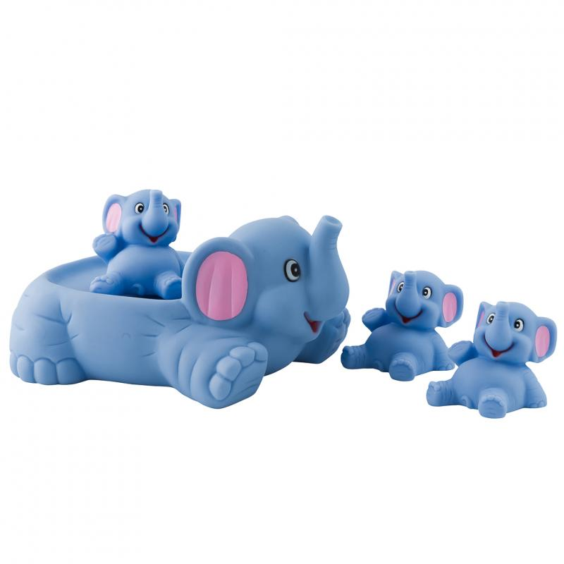 Elephant bath toy