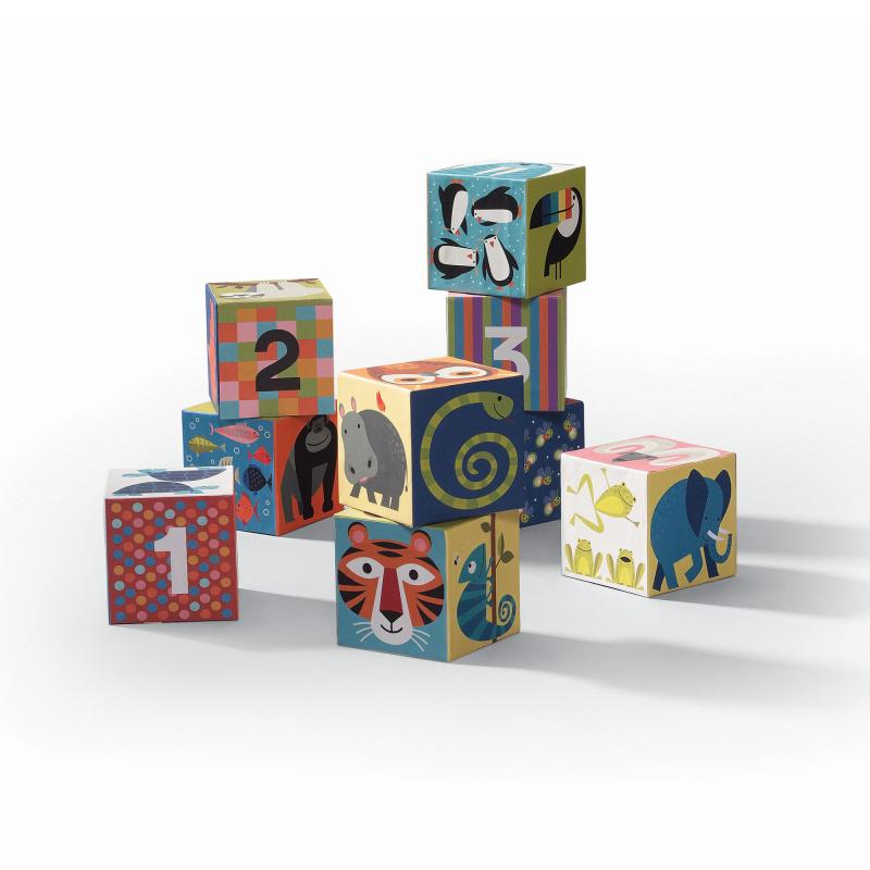 Animal blocks puzzle