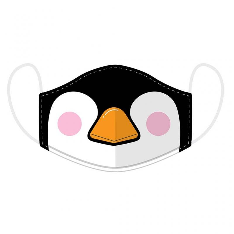 Reusable Penguin Face Mask, Adult