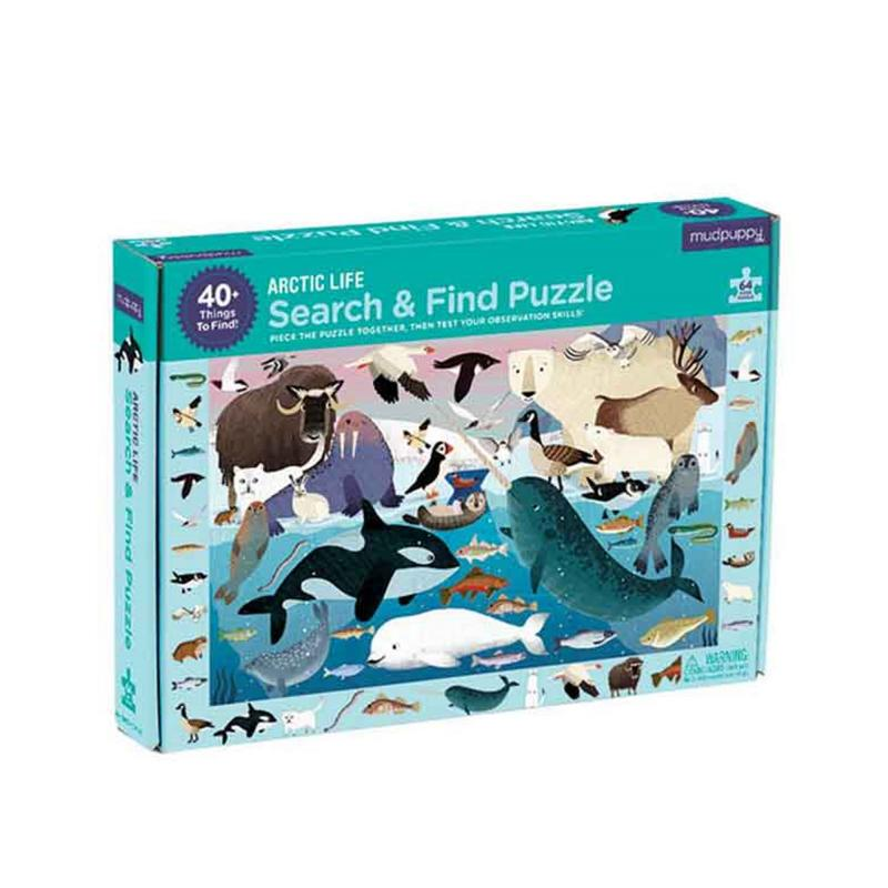 Arctic search and find puzzle