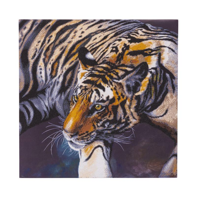 Tiger Crystal Art Canvas