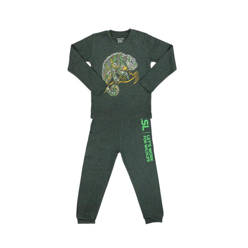 Chameleon glow in the dark pyjamas