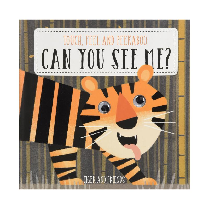 Can you see me tiger and friends book