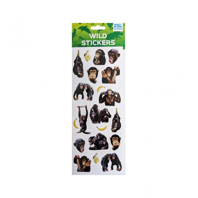Chimpanzee Stickers