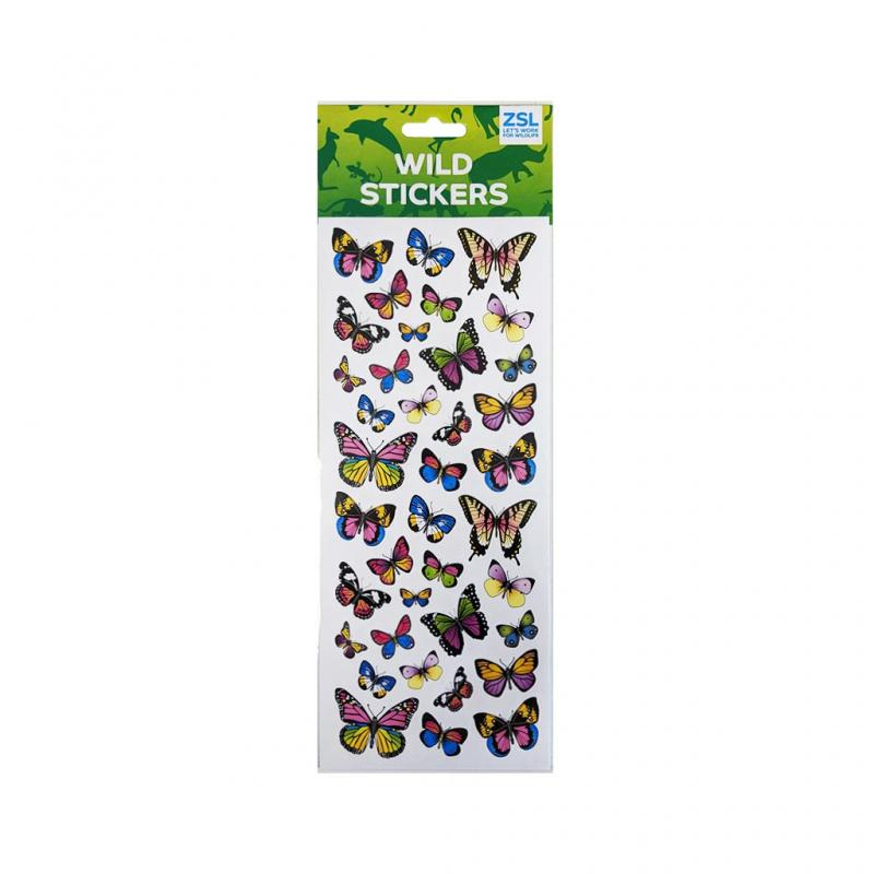Distinct Butterfly Stickers