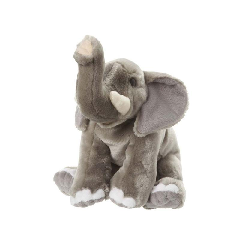 Elephant soft toy, 22cm